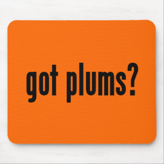 got plums? mouse pad