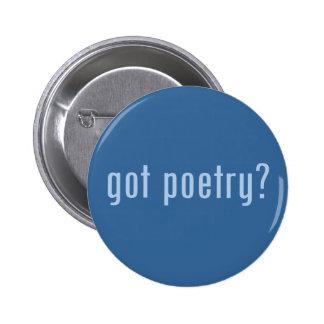 got poetry? 6 cm round badge