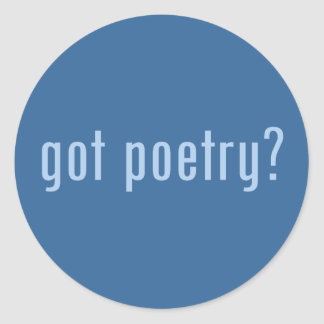 got poetry? stickers