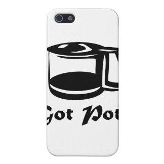 Got Pot Coffee Pot iPhone 5 Cover