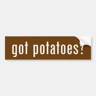 got potatoes? bumper sticker