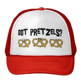 Got Pretzels? Mesh Hats