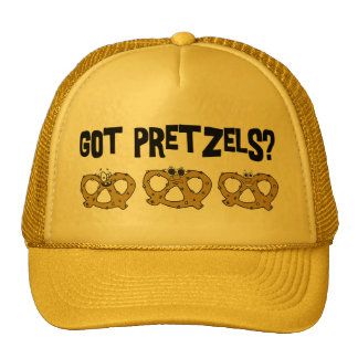Got Pretzels? Trucker Hats