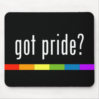 Got Pride: Gay Pride Mouse Pad