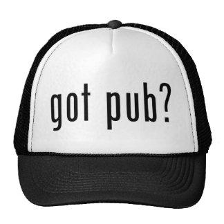 got pub? trucker hats