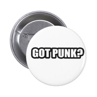 GOT PUNK guys girls Punk Rock Music shirts Button