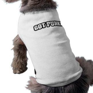 GOT PUNK guys girls Punk Rock Music shirts Dog Clothing