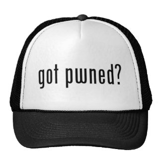 got pwned? trucker hat