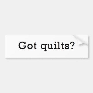 Got Quilts? Bumper Sticker
