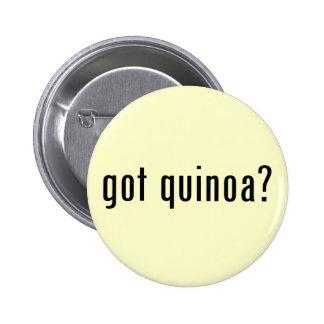 got quinoa? 6 cm round badge