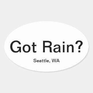 Got Rain? Oval Sticker