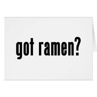 got ramen cards
