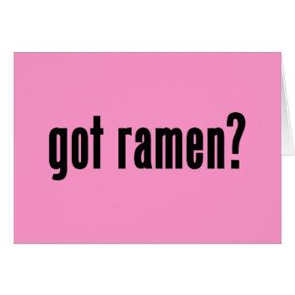 got ramen? cards