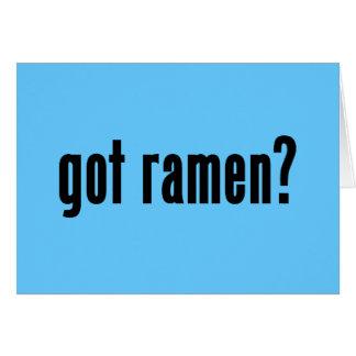 got ramen? card