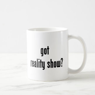 got reality show? basic white mug
