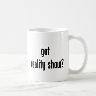 got reality show? coffee mug