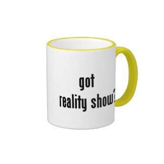 got reality show? ringer mug