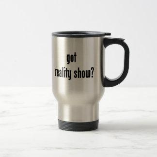got reality show? travel mug