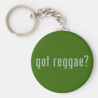 got reggae? basic round button key ring