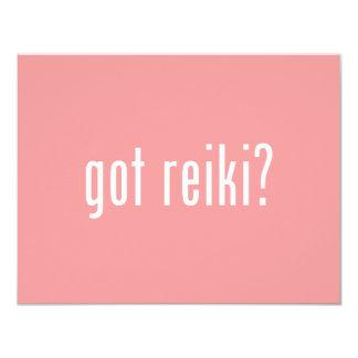 Got Reiki? 11 Cm X 14 Cm Invitation Card