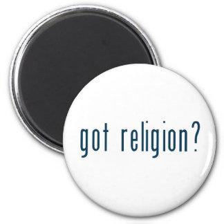 got religion 6 cm round magnet