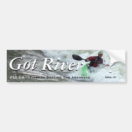 Got River? III Bumper Sticker