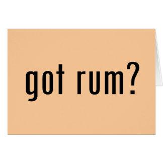 got rum cards