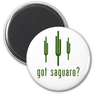 got saguaro? 6 cm round magnet