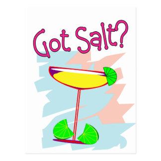 Got Salt Margarita Lovers T-Shirts Gifts Post Card