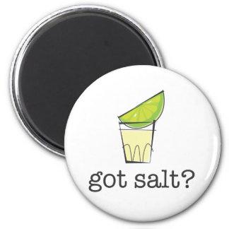 Got Salt? Tequila Shot with Lime 6 Cm Round Magnet