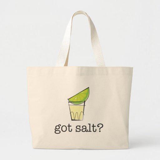 Got Salt? Tequila Shot with Lime Jumbo Tote Bag