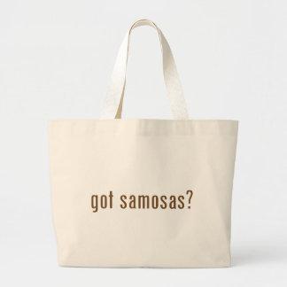 got samosas? jumbo tote bag