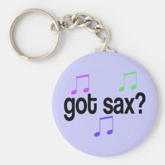 Got Sax Saxophone Gift Key Ring