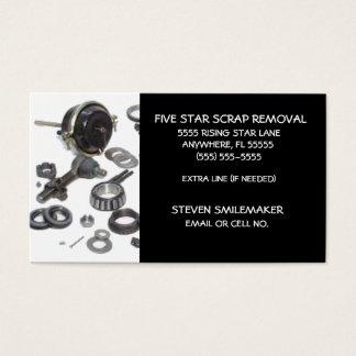 Got Scrap Appliance Scrapper Business Card