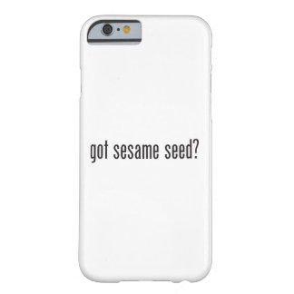 got sesame seeds barely there iPhone 6 case