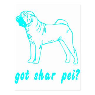 GOT SHAR PEI POSTCARD