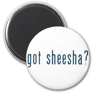got sheesha 6 cm round magnet