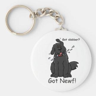 Got Slobber - Got Newf! Key Ring