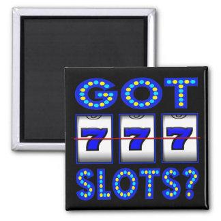 GOT SLOTS ? SQUARE MAGNET
