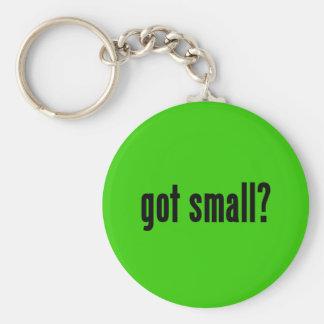 got small? basic round button key ring