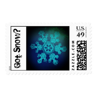 Got Snow? 10 Stamp