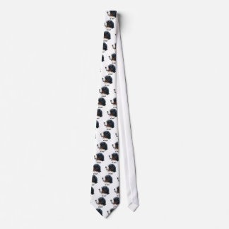 got snow? Bernese Mountain Dog Tie