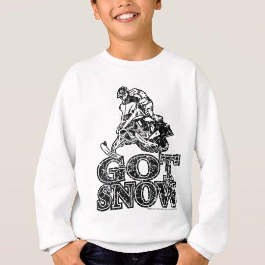 Got-Snow-Distressed Sweatshirt