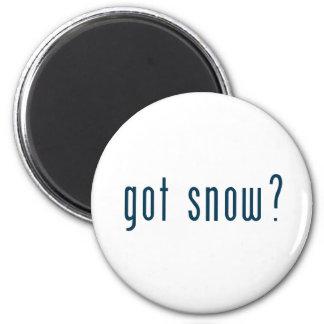 got snow fridge magnet