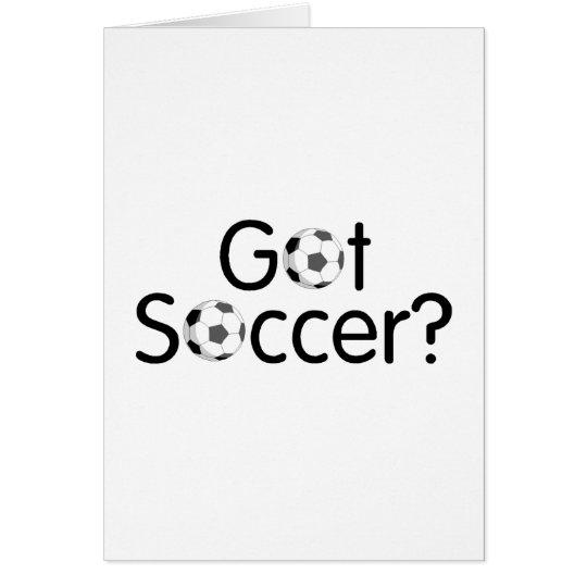 Got Soccer Card