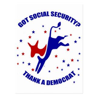 Got Social Security? #3 Post Card