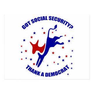Got Social Security? #3 Postcard
