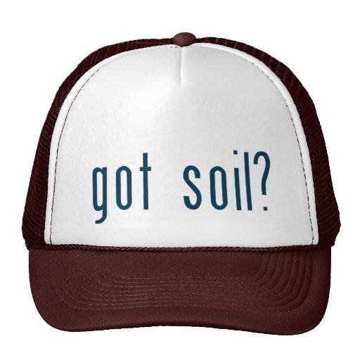 got soil mesh hat