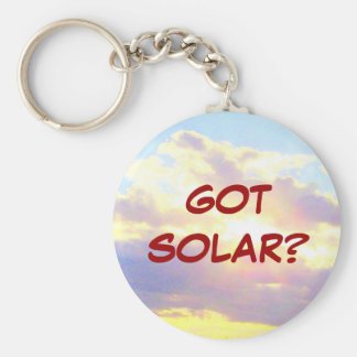 GOT SOLAR? keychain