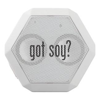 got soy white boombot rex bluetooth speaker
